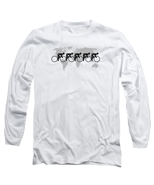 The Bicycle Race 3 Long Sleeve T-Shirt