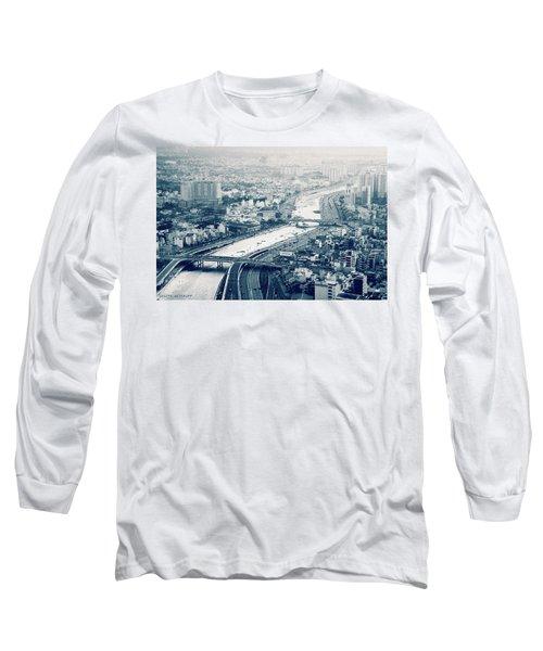 The Bisection Of Saigon Long Sleeve T-Shirt