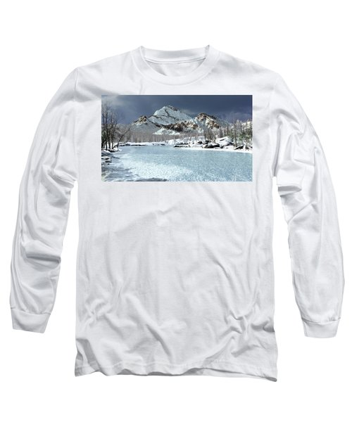 The Courtship Of Ice Long Sleeve T-Shirt