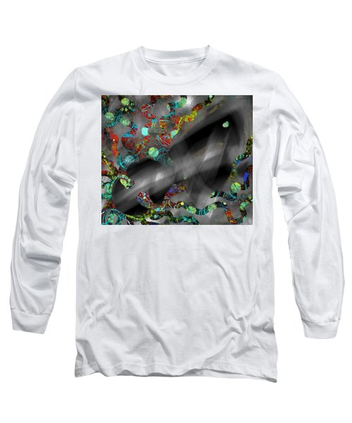 The Ghost Hides Imprint Of The Spirit Long Sleeve T-Shirt