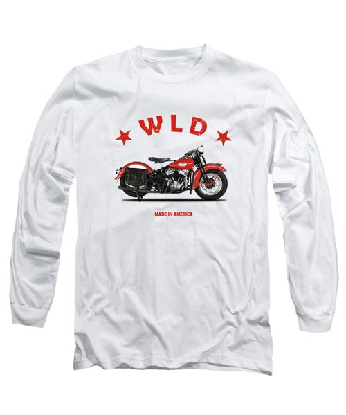 The Harley Wld Motorcycle 1941 Long Sleeve T-Shirt