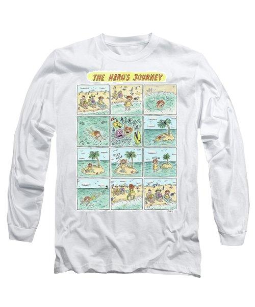 The Heros Journey Long Sleeve T-Shirt