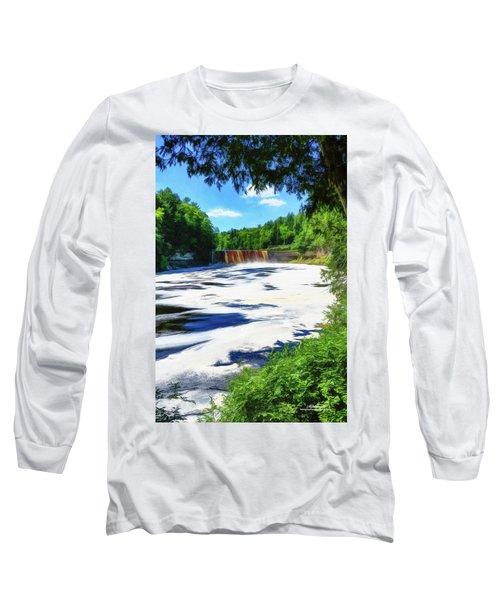 The Mighty Tahquamenon Long Sleeve T-Shirt
