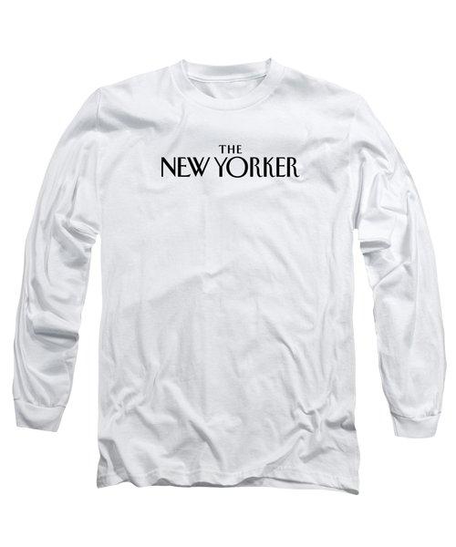 The New Yorker Logo Long Sleeve T-Shirt
