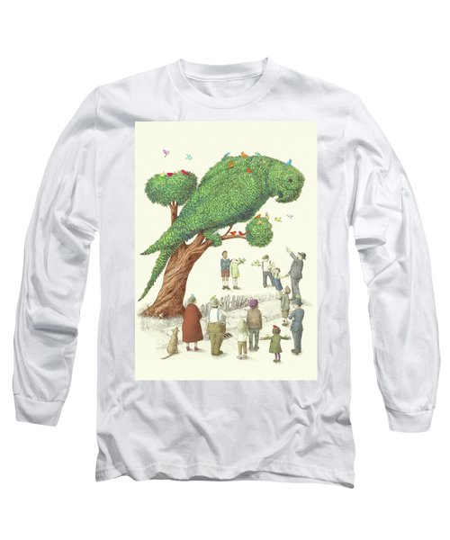 The Parrot Tree Long Sleeve T-Shirt