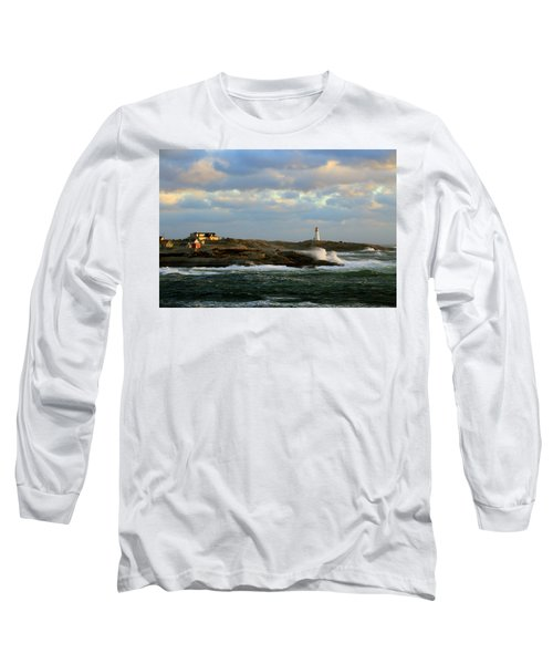 The Peggy's Cove Seascape Long Sleeve T-Shirt