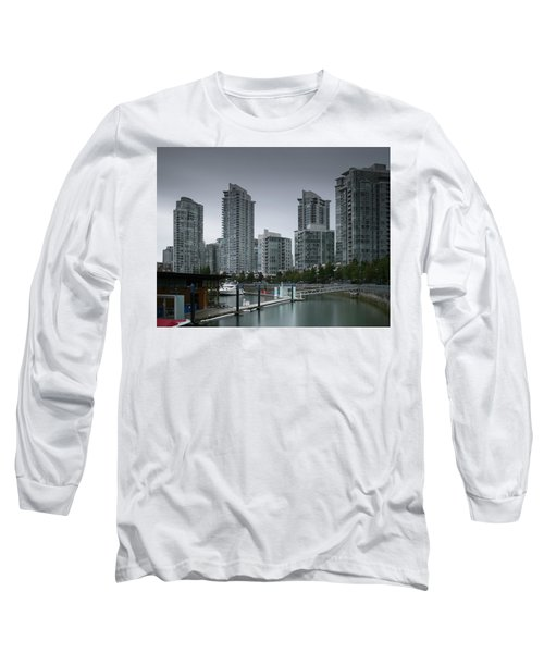 The Quayside Marina - Yaletown Apartments Vancouver Long Sleeve T-Shirt