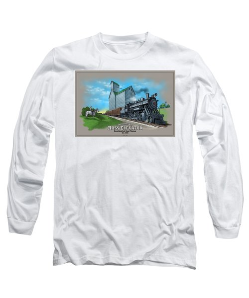 The Ross Elevator Sentinel Of The Plains Long Sleeve T-Shirt
