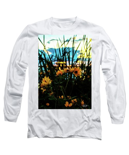 The Sunflower's Sunset Long Sleeve T-Shirt