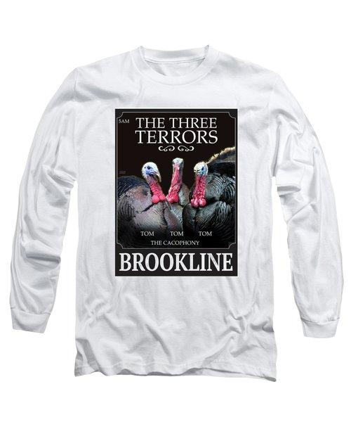 The Three Terrors Long Sleeve T-Shirt