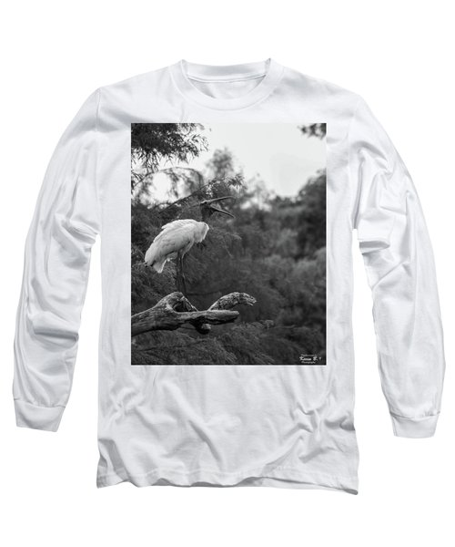 The Yawn Long Sleeve T-Shirt