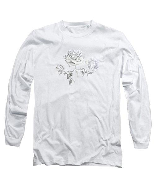 Three Roses Long Sleeve T-Shirt