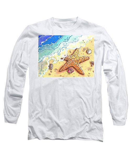 Tidal Beach Starfish Long Sleeve T-Shirt