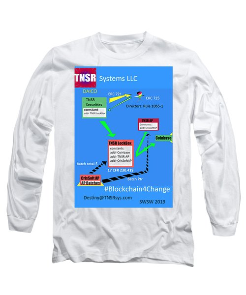 Tnsr Ethereum Cluster Long Sleeve T-Shirt
