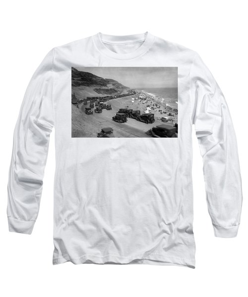 Topanga State Beach 1920 Long Sleeve T-Shirt