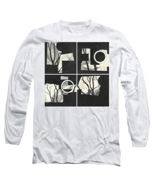 Torn Beauty No. 3 Long Sleeve T-Shirt