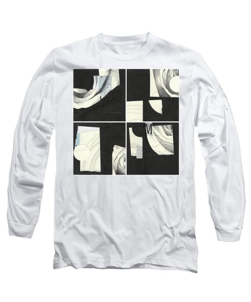 Torn Beauty No. 4 Long Sleeve T-Shirt
