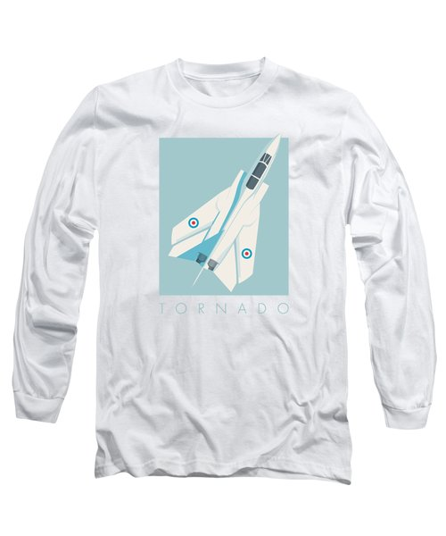 Tornado Swing Wing Jet - Sky Long Sleeve T-Shirt