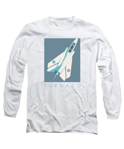 Tornado Swing Wing Jet - Slate Long Sleeve T-Shirt