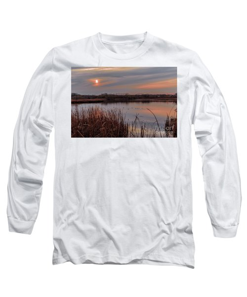 Tranquil Sunset Long Sleeve T-Shirt