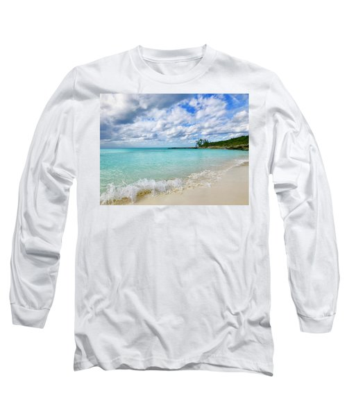 Tropical Beach Long Sleeve T-Shirt