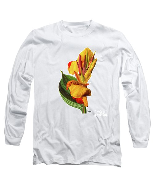 Tropical Bouquet-flower One Long Sleeve T-Shirt
