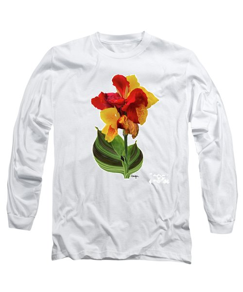 Tropical Bouquet-flower Two Long Sleeve T-Shirt