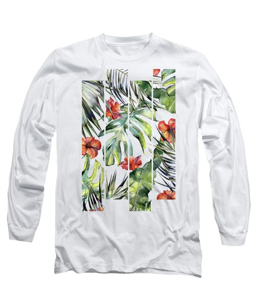 Tropical Garden 5 Long Sleeve T-Shirt