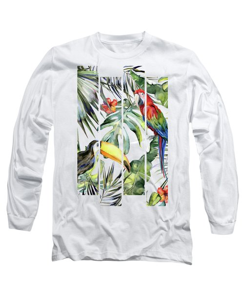 Tropical Jungle Long Sleeve T-Shirt