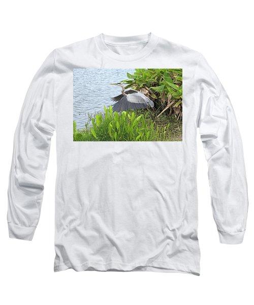 True Blue #1 Long Sleeve T-Shirt