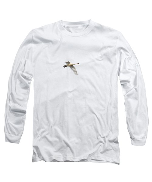 Trumpeter Swan Isolated 2018-1 Long Sleeve T-Shirt