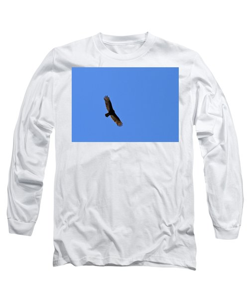 Turkey Vulture Soaring Long Sleeve T-Shirt