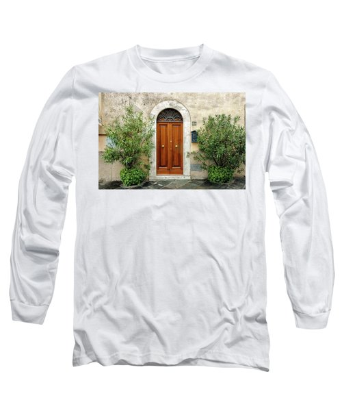 Tuscan Door Long Sleeve T-Shirt