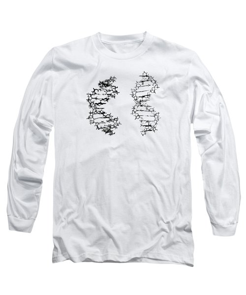Two Dna-black Long Sleeve T-Shirt
