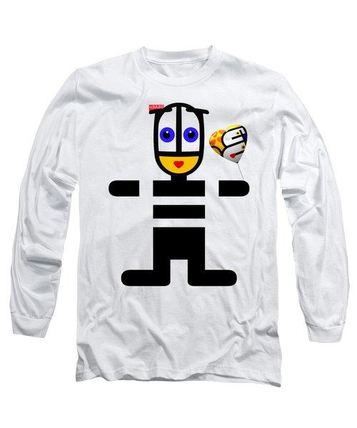 uBABE Love Balloon Long Sleeve T-Shirt