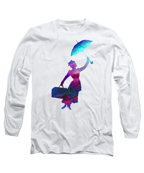 Umbrella Lady Long Sleeve T-Shirt