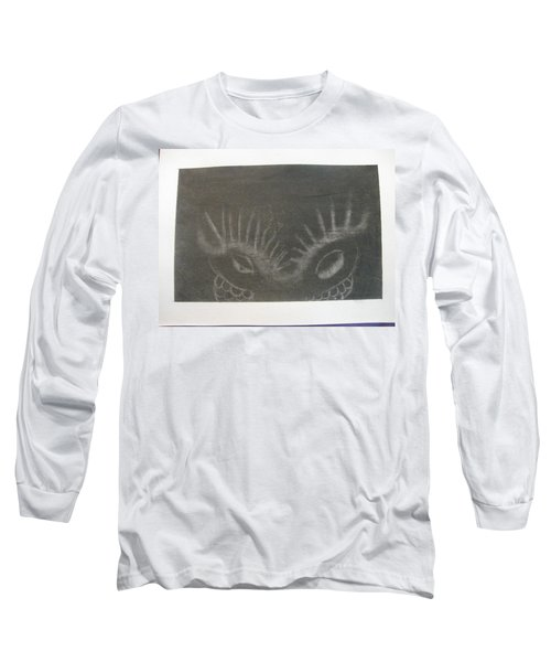 Upper Dragon Face Long Sleeve T-Shirt