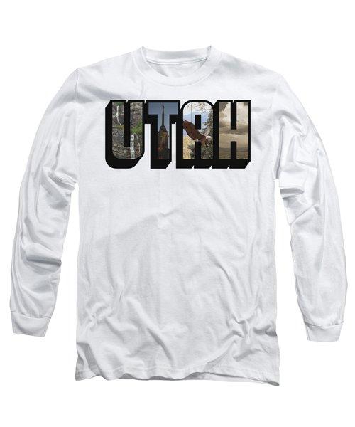 Utah Big Letter Long Sleeve T-Shirt
