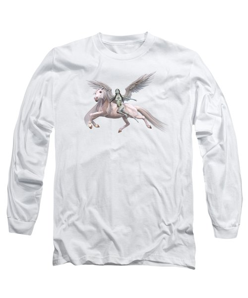 Valkyrie Angel Long Sleeve T-Shirt