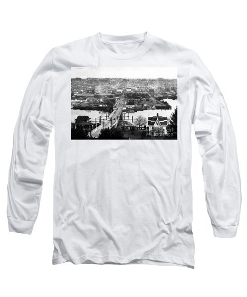View East Over Olympia 1921 Long Sleeve T-Shirt