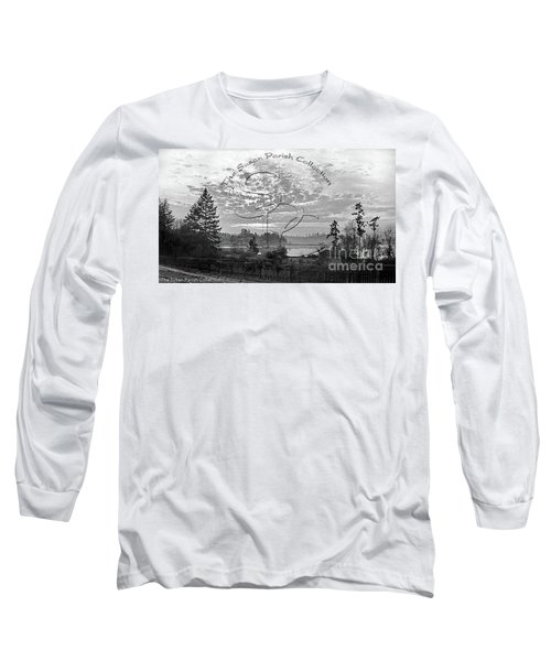 View Of Boston Harbor Long Sleeve T-Shirt