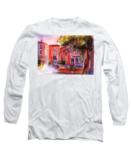 Village Roussillon Provence France Long Sleeve T-Shirt