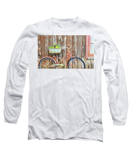Vintage Bicycles Long Sleeve T-Shirt