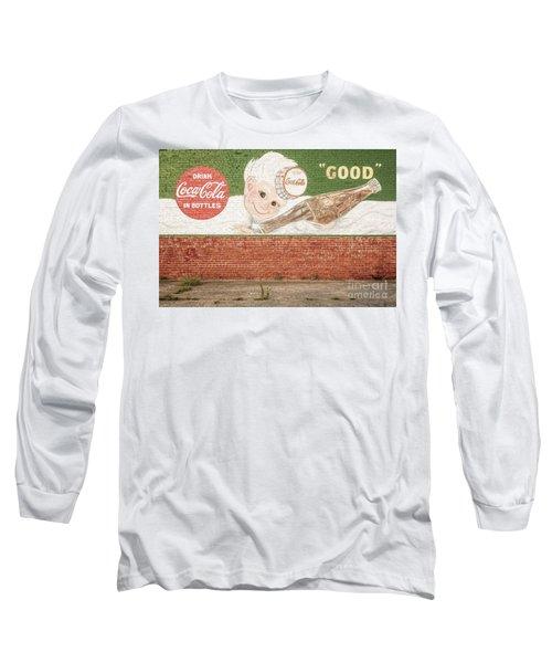 Vintage Drink Coca Cola Long Sleeve T-Shirt