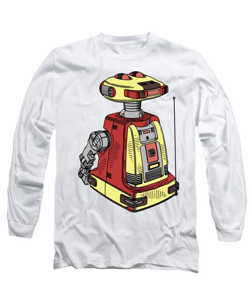 Vintage Toy Robot Tee Long Sleeve T-Shirt