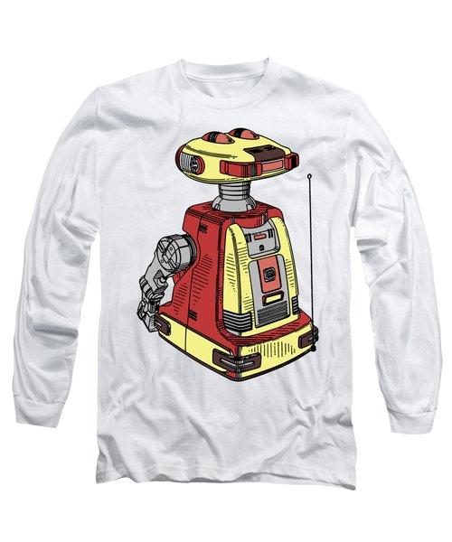Vintage Toy Robot Tee Long Sleeve T-Shirt