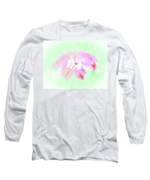 Long Sleeve T-Shirt featuring the photograph Violet Red Islamic Flora by Rockin Docks