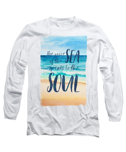 Voice Of The Sea Long Sleeve T-Shirt