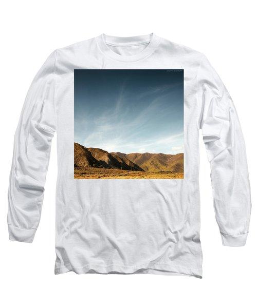 Wainui Hills Squared Long Sleeve T-Shirt