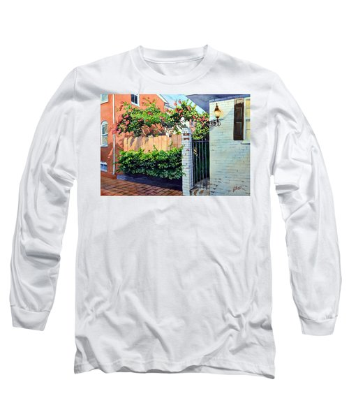 Walking On Jefferson Long Sleeve T-Shirt